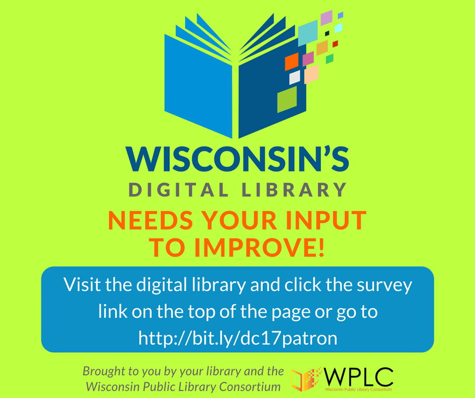 Image for Facebook WPLC 2017 Digital Collections Patron Survey
